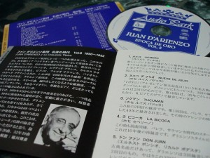 CD pamphlet, CD and backsleeve.