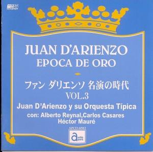 Cover art of Juan D'Arienzo Epoca de Oro CD.